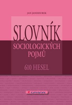 Obrázok Slovník sociologických pojmů