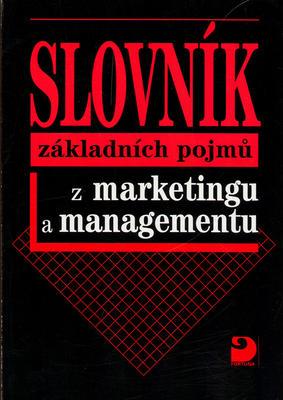 Obrázok Slovník základních pojmů z marketingu a managementu