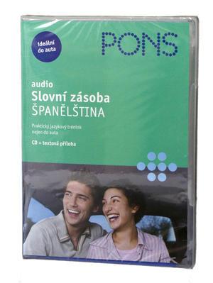 Obrázok Slovní zásoba Španělština (audio CD)