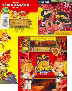 Obrázok Smelí bojovníci + CD ROM