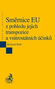 Obrázok Směrnice EU z pohledu jejich transpozice a vnitrostátních účinků