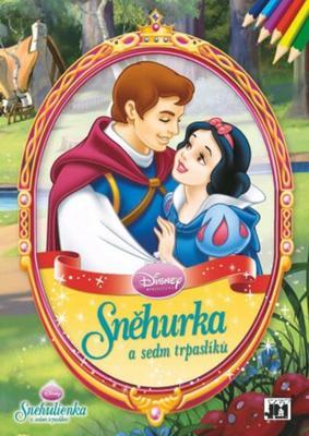 Obrázok Sněhurka - omalovánka