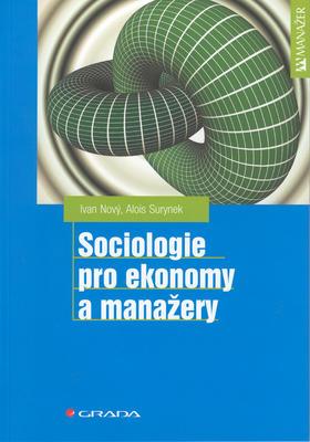 Obrázok Sociologie pro ekonomy a manažery