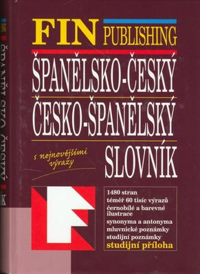 Obrázok Španělsko-český, Česko-španělský slovník