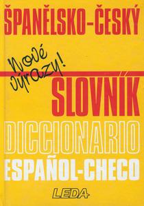 Obrázok Španělsko-český slovník   Dicccionario