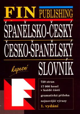 Obrázok Španělso-Český, Česko-Španělský slovník