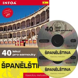 Obrázok Španělština 40 lekcí pro samouky s 2CD