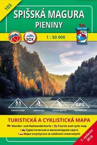 Obrázok Spišská Magura, Pieniny 1:50 000 (2018)