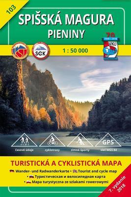 Obrázok Spišská Magura, Pieniny 1:50 000