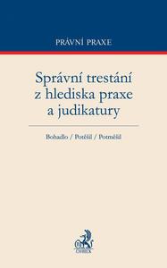 Obrázok Správní trestání z hlediska praxe a judikatury