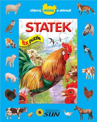Obrázok Statek 8x puzzle
