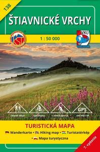 Obrázok Štiavnické vrchy 1:50 000