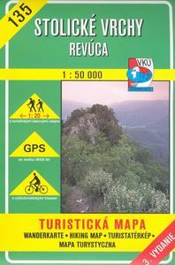 Obrázok Stolické vrchy Revúca 1:50 000