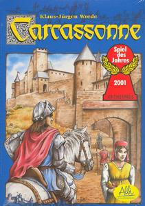 Obrázok Stolní společenská hra Carcassonne
