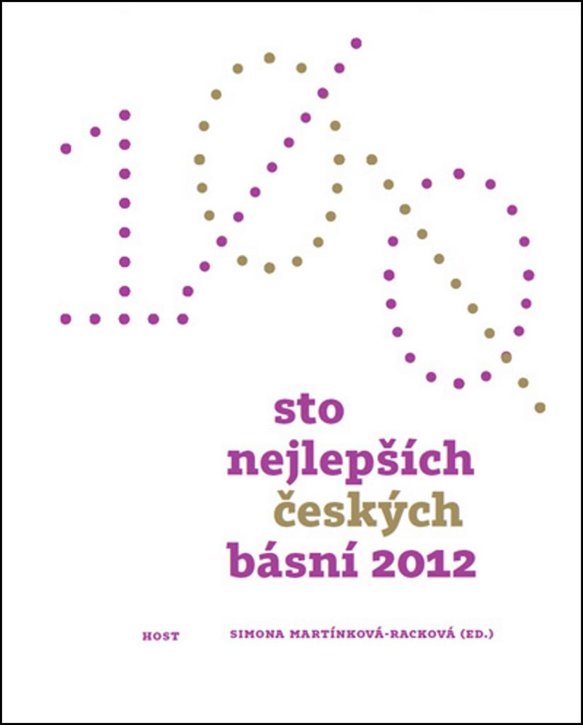 Sto nejlepších českých básní 2012 - Simona Martínková-Racková