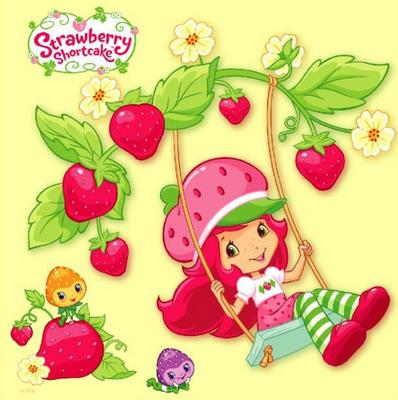 Obrázok Strawberry - omalovánka