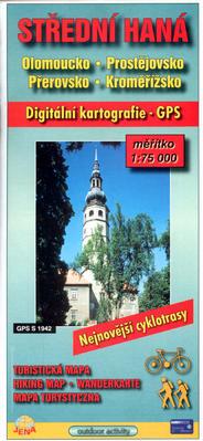 Obrázok Střední Haná 1:75 000     Olomoucko, Prostějovsko, Přerovsko, Kroměřížsko