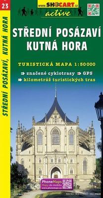 Obrázok Střední Posázaví, Kutná Hora 1:50 000