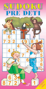 Obrázok Sudoku pre deti červená