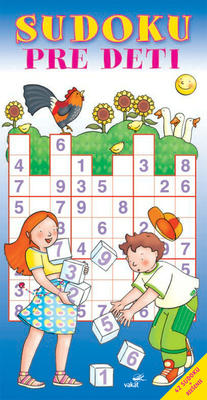 Obrázok Sudoku pre deti modrá