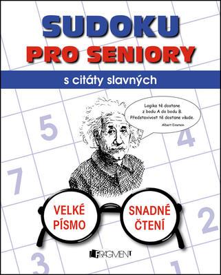 Obrázok Sudoku pro seniory s citáty slavných