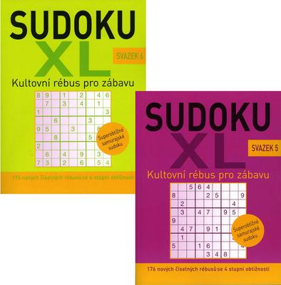 Sudoku XL svazek 5 + 6