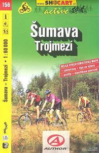 Šumava Trojmezí 1:60 000