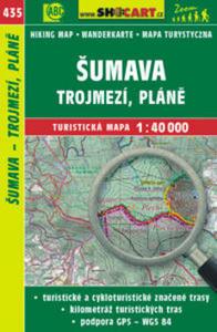 Obrázok Šumava, Trojmezí, Pláně1:40 000