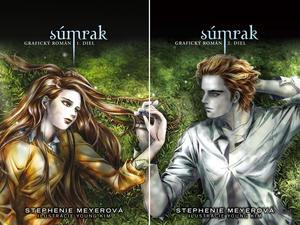 Obrázok Súmrak Grafický román I. a II.diel