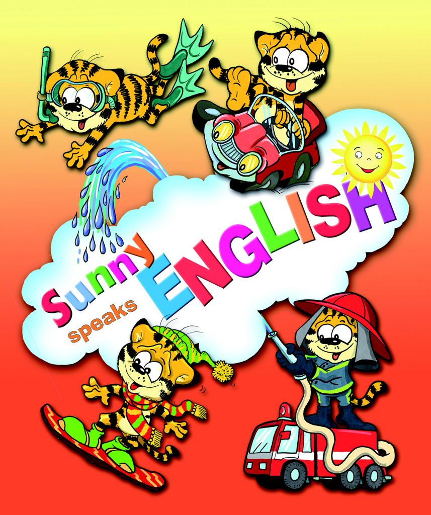 Sunny speaks English 1 - Eva Bavorová
