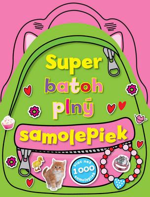 Obrázok Super batoh plný samolepiek