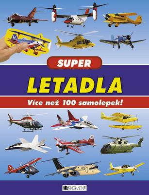 Super letadla Více než 100 samolepek!