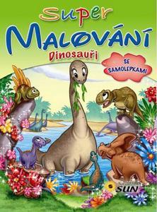 Obrázok Super malování Dinosauři