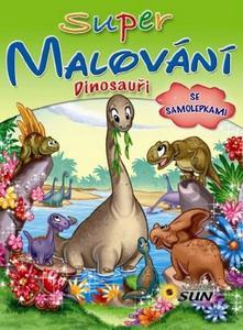 Obrázok Super malování se samolepkami Dinosauři