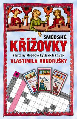 Obrázok Švédské křížovky s hrdiny středověkých detektivek Vlastimila Vondrušky