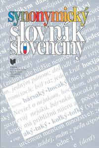 Obrázok Synonymický slovník slovenčiny