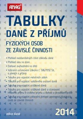 Obrázok Tabulky daně z příjmů fyzických osob ze závislé činnosti 2014