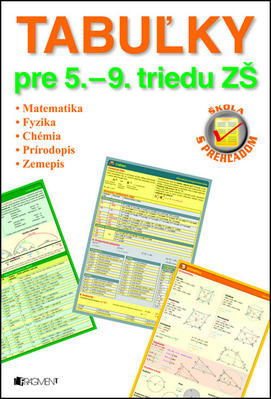 Obrázok Tabuľky pre 5. – 9. triedu ZŠ