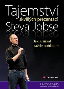 Obrázok Tajemství skvělých prezentací Steva Jobse