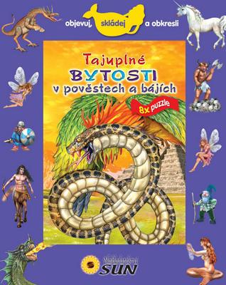 Obrázok Tajuplné bytosti v pověstech a bájích 8x puzzle