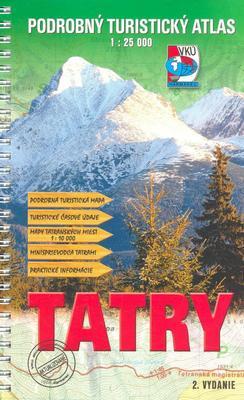 Podrobný turistický atlas  Tatry