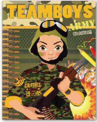 Obrázok TEAMBOYS Army Colour!
