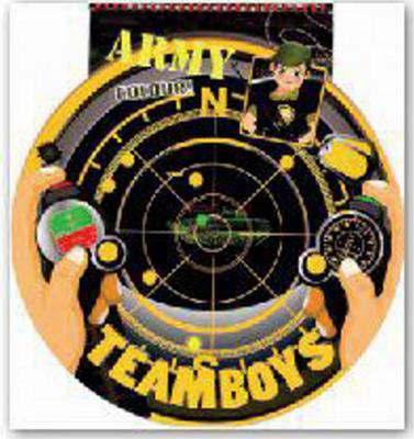 Obrázok TEAMBOYS Army Colour! – hledáček radaru