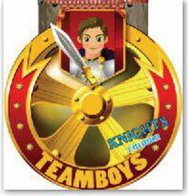 Obrázok TEAMBOYS Knights Colour! – štít