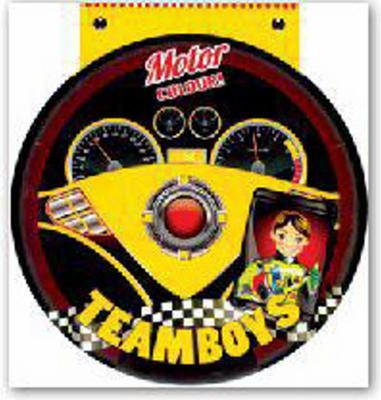 Obrázok TEAMBOYS Motor Colour! – volant