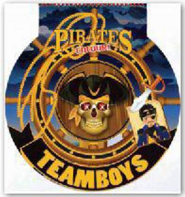 Obrázok TEAMBOYS Pirates Colour! – kormidlo
