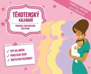 Obrázok Těhotenský kalendář - stolní kalendář