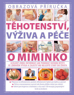 Obrázok Těhotenství, výživa a péče o miminko