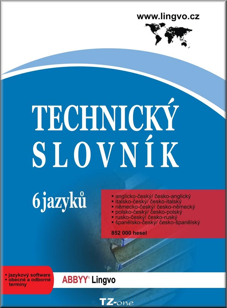 Technický slovník 6 jazyků