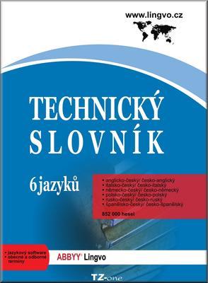 Obrázok Technický slovník 6 jazyků